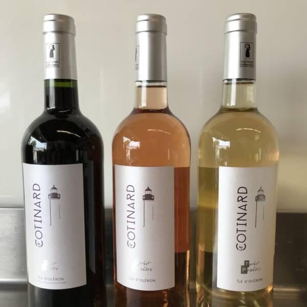 """Vin """"Cotinard"""" de l'Ile d'Oléron"""
